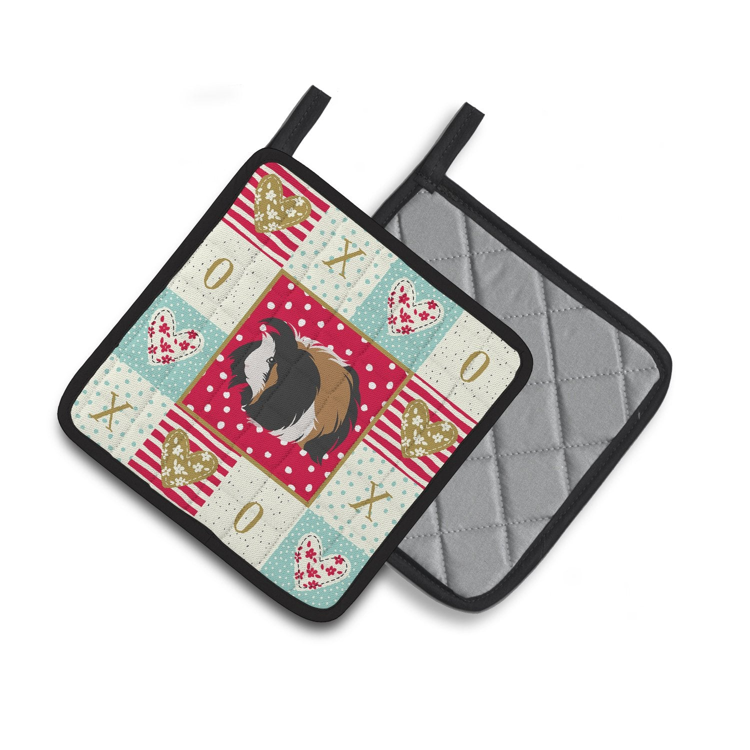 Buy this Sheba Guinea Pig Love Pair of Pot Holders CK5433PTHD
