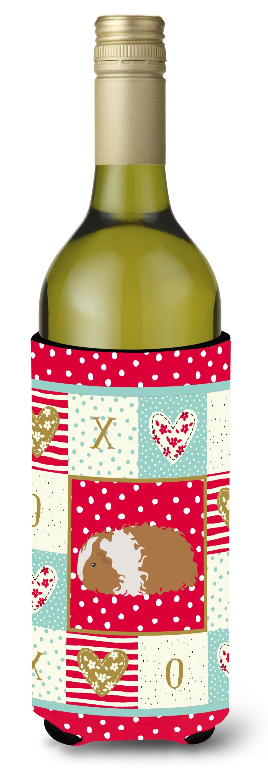 Texel Guinea Pig Love Wine Bottle Hugger CK5437LITERK by Caroline's Treasures