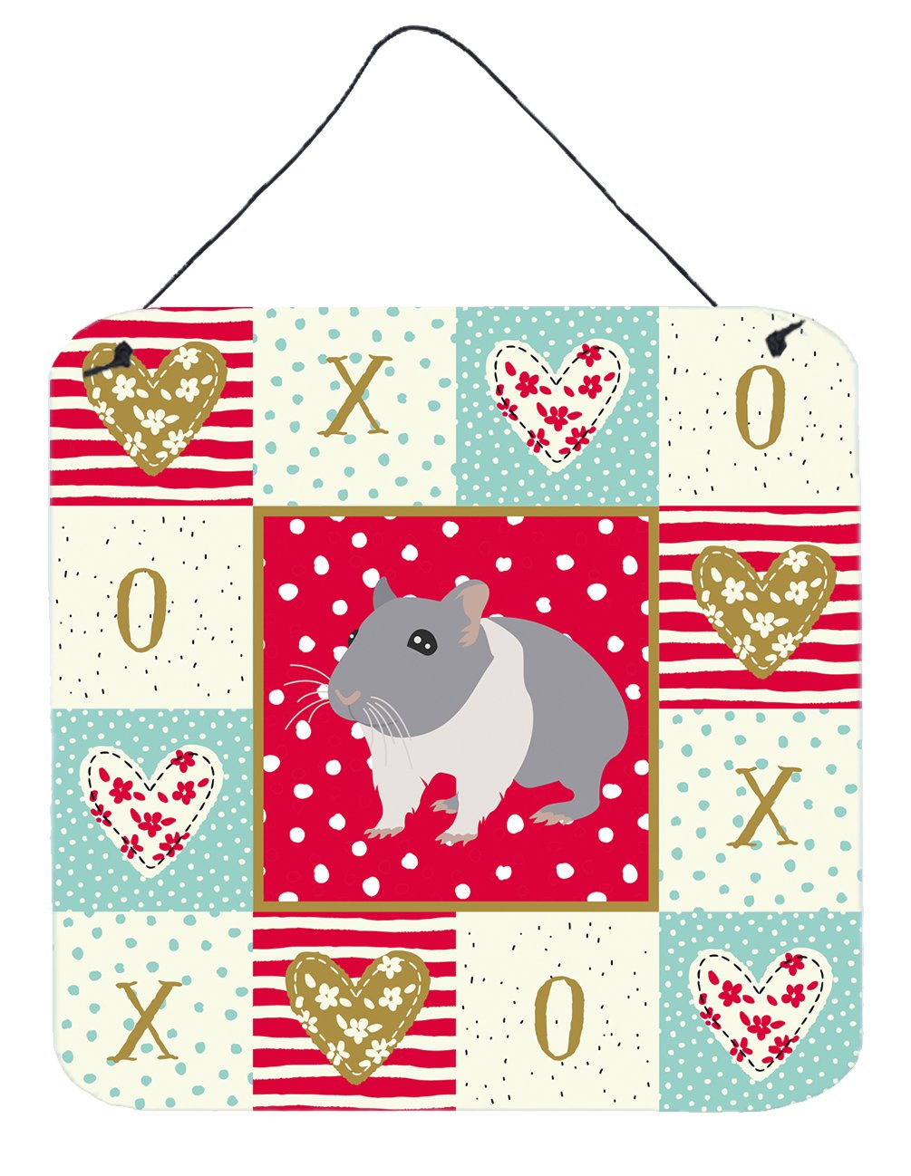 Buy this South African Hamster Love Wall or Door Hanging Prints CK5442DS66