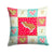 Buy this White Legged Hamster Love Fabric Decorative Pillow CK5446PW1414
