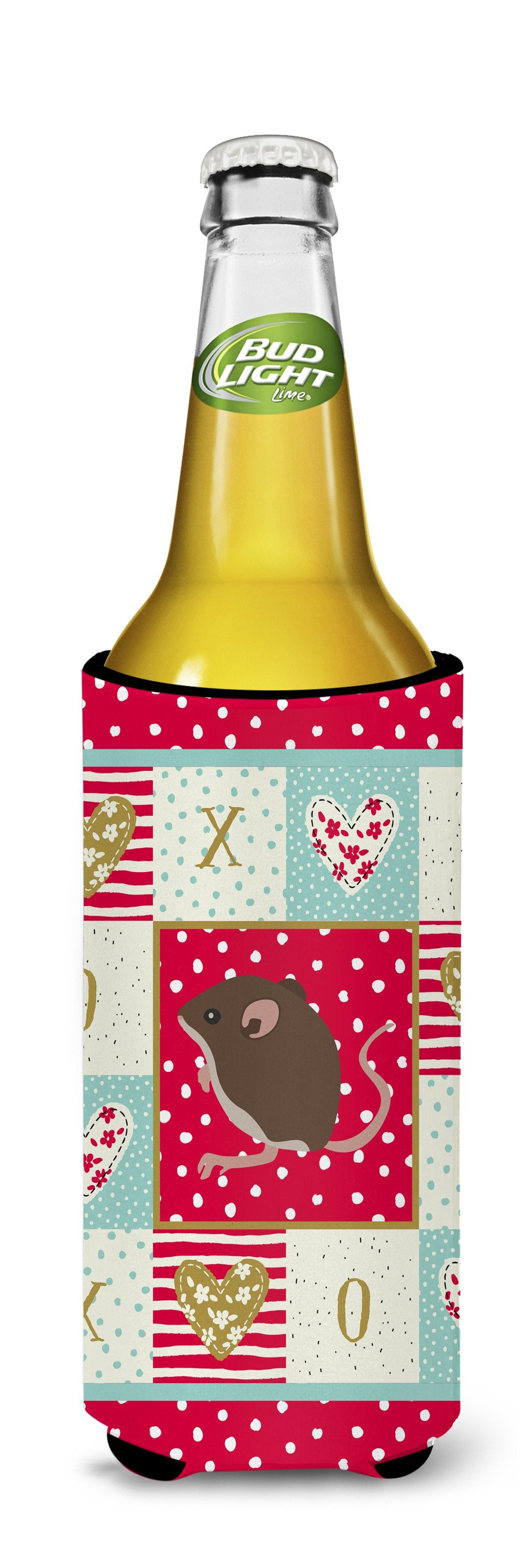 Baby Mouse Love Michelob Ultra Hugger for slim cans CK5448MUK by Caroline's Treasures