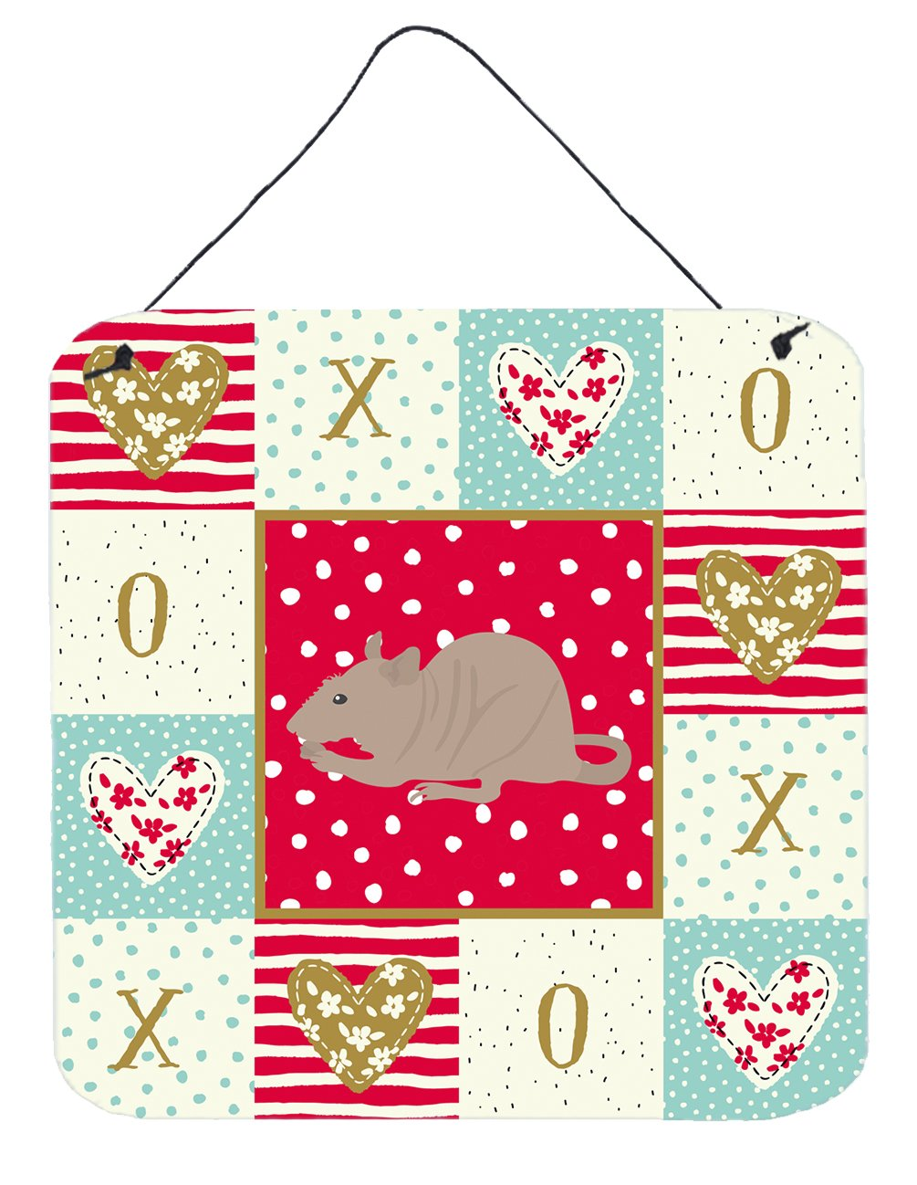 Buy this Fuzz Rat Love Wall or Door Hanging Prints CK5460DS66