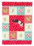 Tailless Rat Love Flag Canvas House Size CK5464CHF by Caroline's Treasures