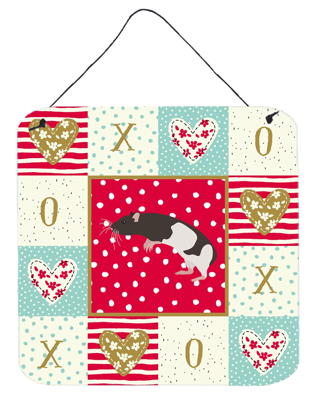 Buy this Tailless Rat Love Wall or Door Hanging Prints CK5464DS66