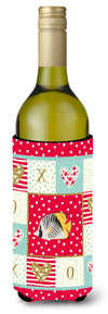 Butterfly Fish Love Wine Bottle Hugger CK5466LITERK by Caroline's Treasures
