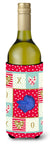 Delta Tail Betta Fish Love Wine Bottle Hugger CK5468LITERK by Caroline's Treasures