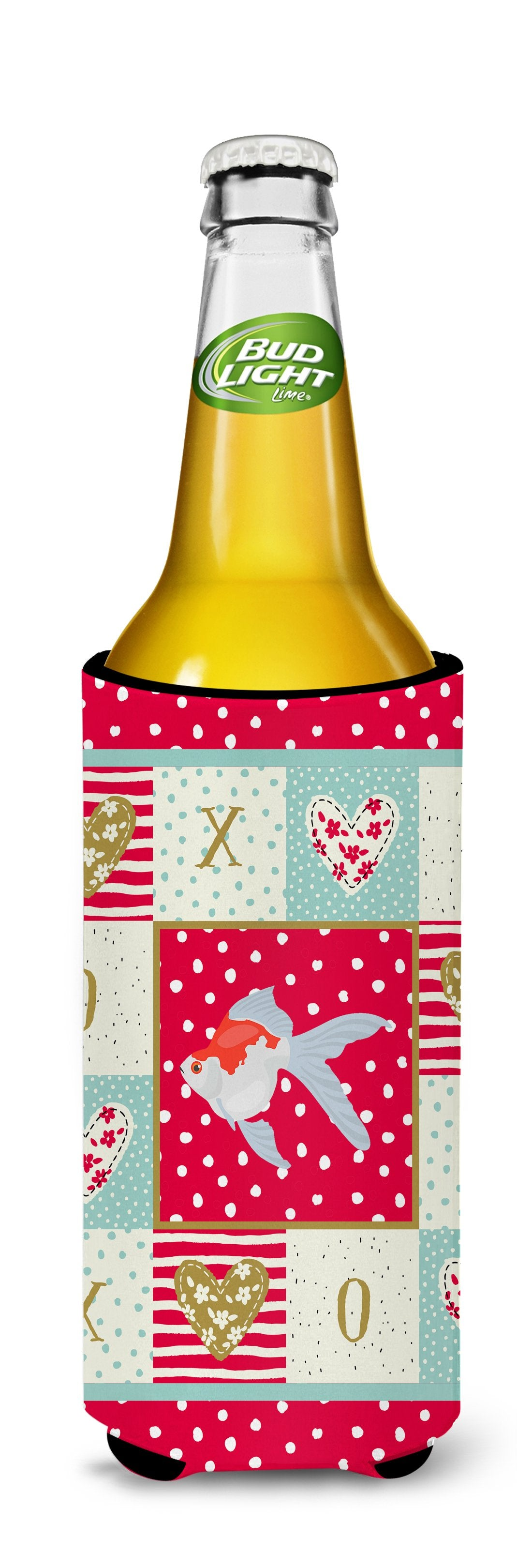 Tamasaba Goldfish Love Michelob Ultra Hugger for slim cans CK5479MUK by Caroline's Treasures