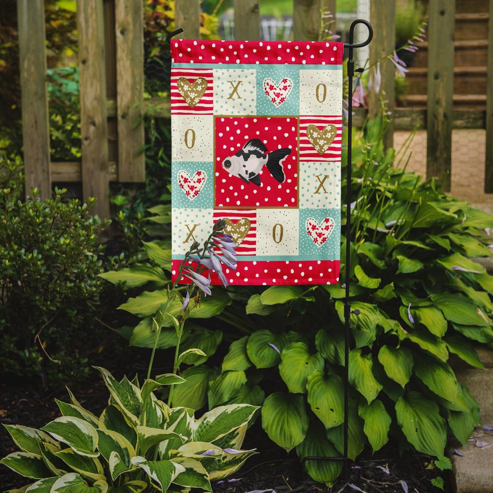Telescope Eye Goldfish Love Flag Garden Size CK5480GF by Caroline's Treasures