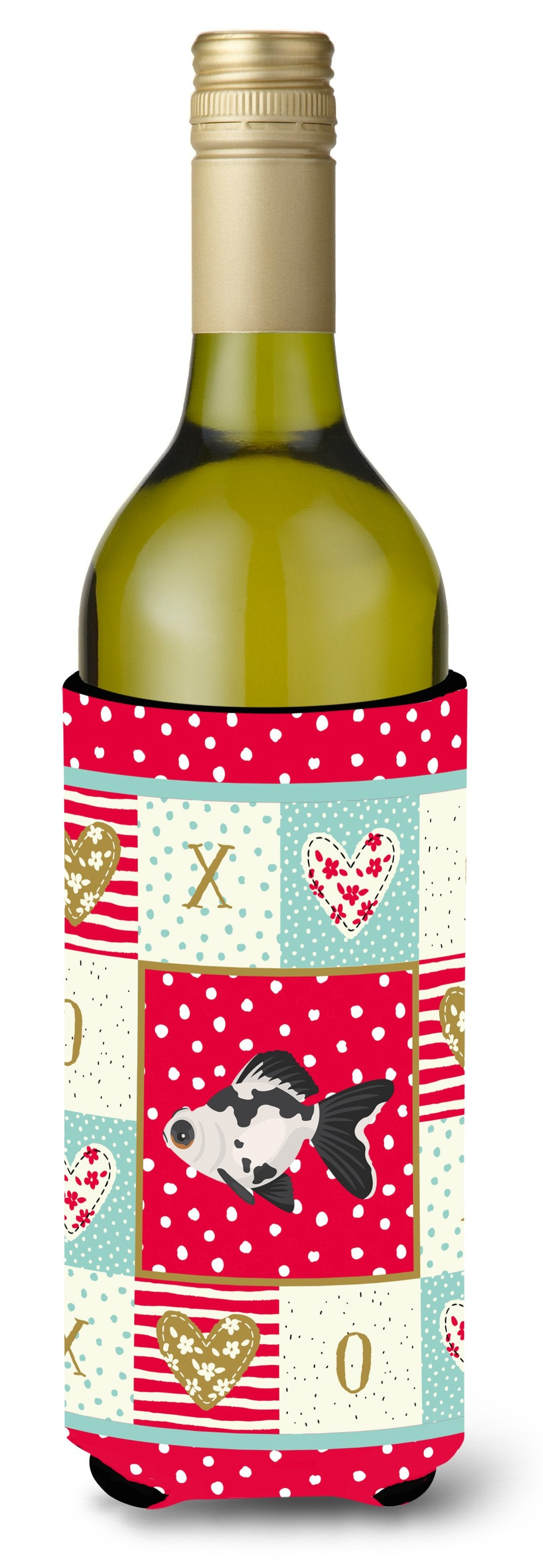 Telescope Eye Goldfish Love Wine Bottle Hugger CK5480LITERK by Caroline's Treasures