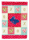 Veiltail Goldfish Love Flag Canvas House Size CK5481CHF by Caroline's Treasures
