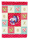 Comb Tail Betta Love Flag Canvas House Size CK5483CHF by Caroline's Treasures