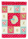 Elephant Ear Betta Love Flag Canvas House Size CK5486CHF by Caroline's Treasures