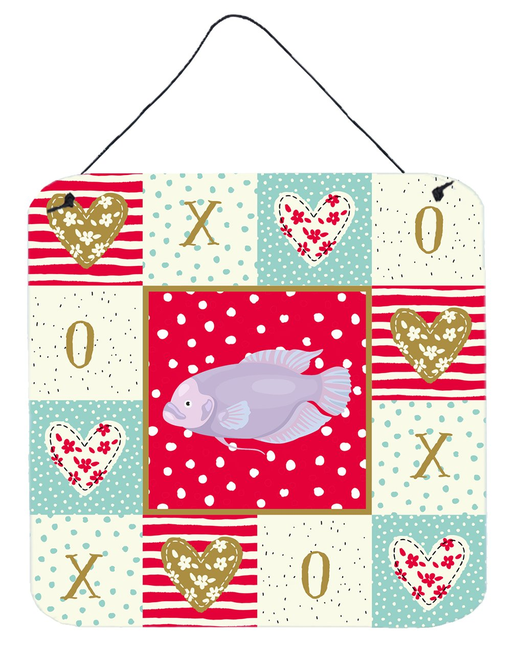 Buy this Giant Gourami Love Wall or Door Hanging Prints CK5487DS66