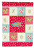 Paradise Fish Love Flag Canvas House Size CK5491CHF by Caroline's Treasures