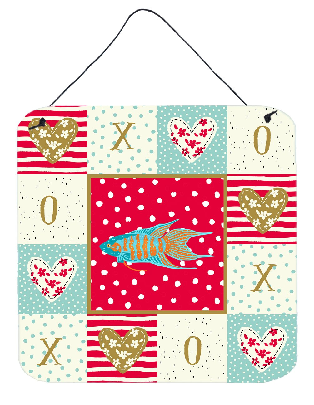 Buy this Paradise Fish Love Wall or Door Hanging Prints CK5491DS66