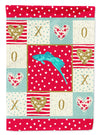 Sword Tail Guppy Love Flag Canvas House Size CK5498CHF by Caroline's Treasures