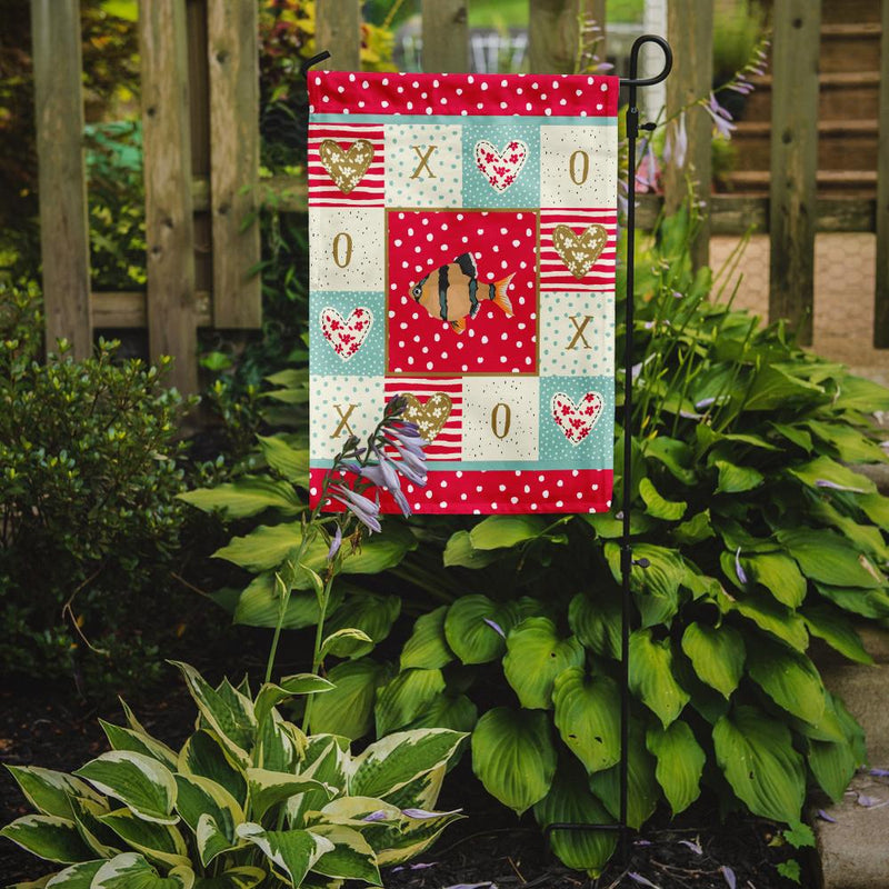 Buy this Tiger Barb Love Flag Garden Size CK5499GF