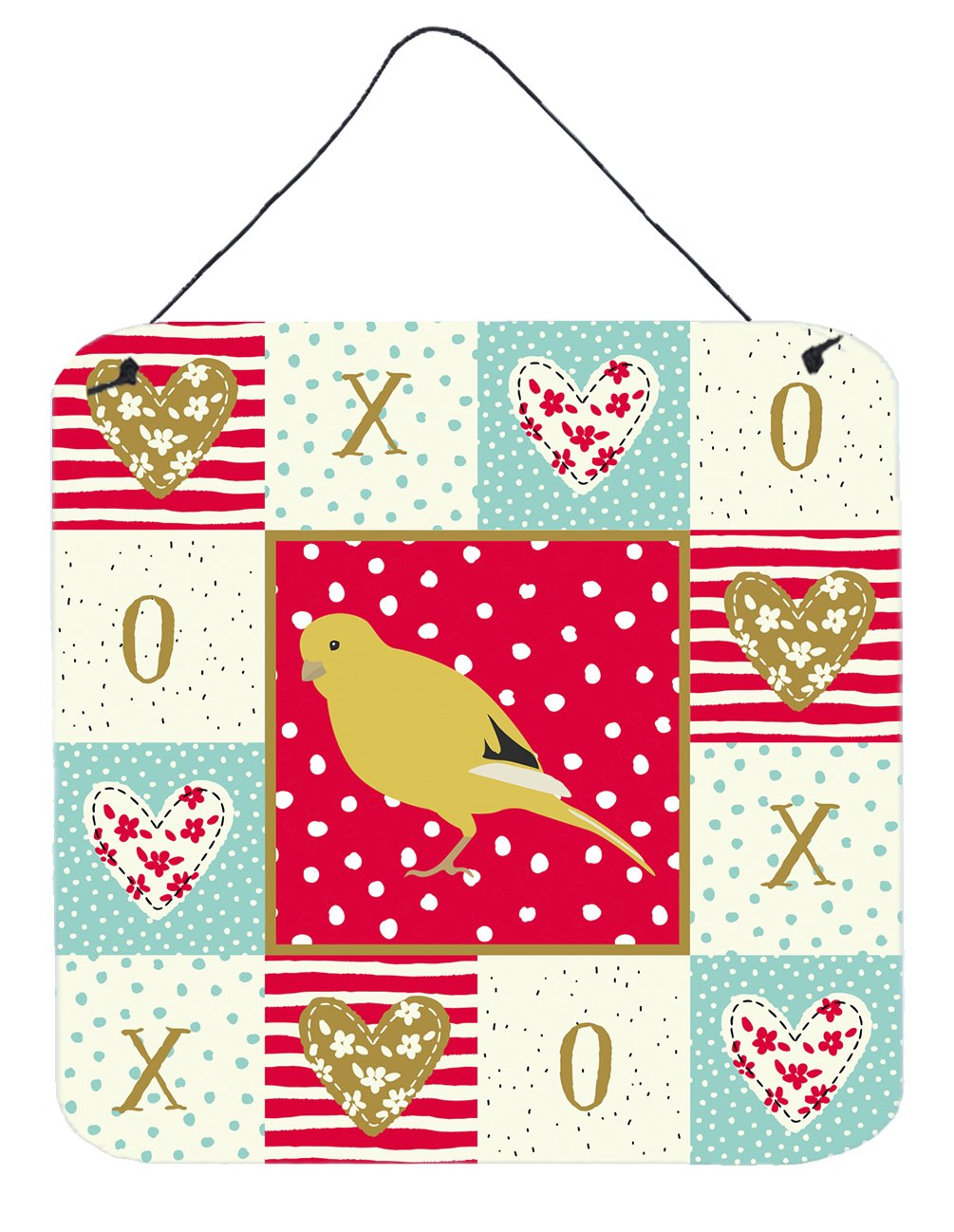Buy this Border Canary Love Wall or Door Hanging Prints CK5501DS66