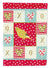 Border Canary Love Flag Garden Size CK5501GF by Caroline's Treasures