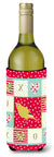 Border Canary Love Wine Bottle Hugger CK5501LITERK by Caroline's Treasures
