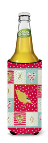 Border Canary Love Michelob Ultra Hugger for slim cans CK5501MUK by Caroline's Treasures
