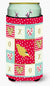 Border Canary Love Tall Boy Beverage Insulator Hugger CK5501TBC by Caroline's Treasures