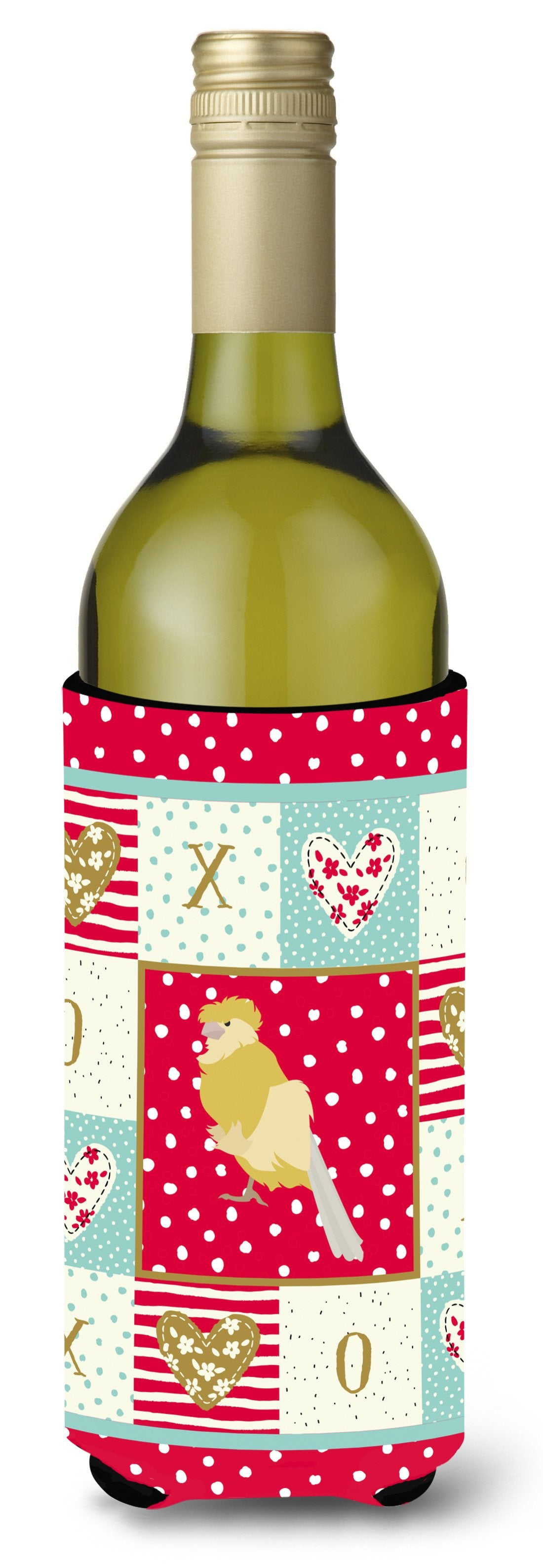 Buy this French Curly Canary Love Wine Bottle Hugger CK5502LITERK