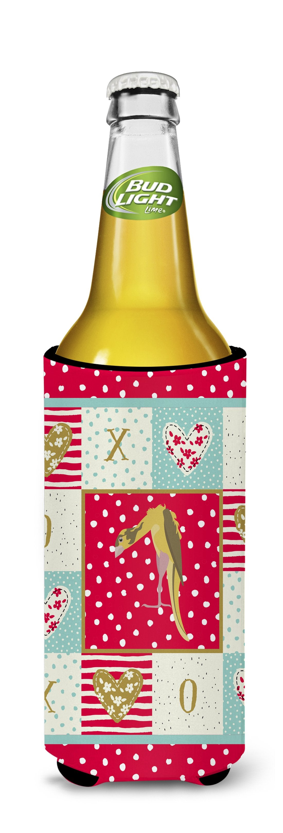 Jibso Canary Love Michelob Ultra Hugger for slim cans CK5503MUK by Caroline's Treasures