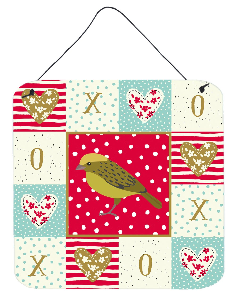 Buy this Lizard Canary Love Wall or Door Hanging Prints CK5504DS66