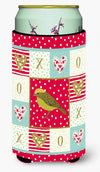 Lizard Canary Love Tall Boy Beverage Insulator Hugger CK5504TBC by Caroline's Treasures