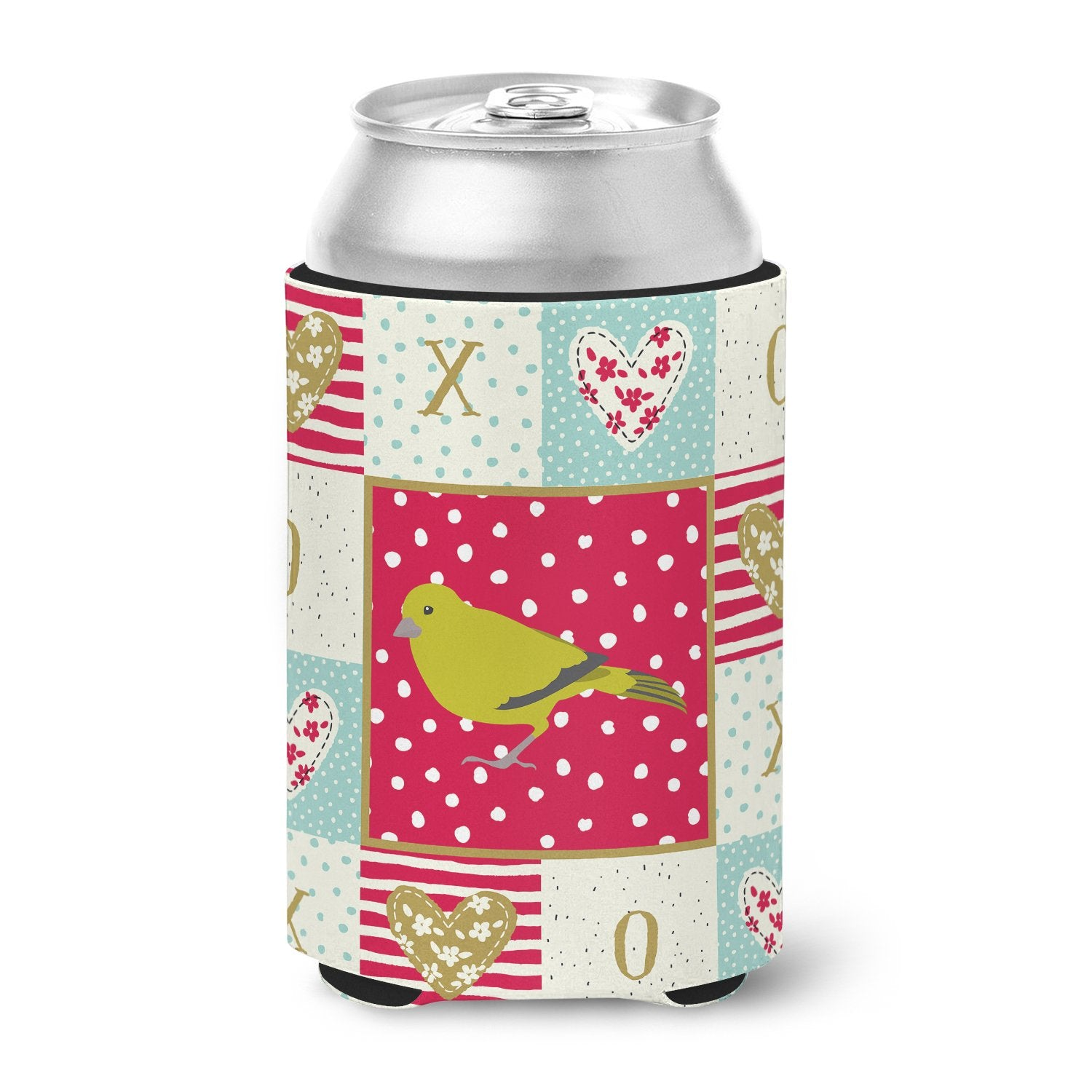 Buy this London Canary Love Can or Bottle Hugger CK5505CC