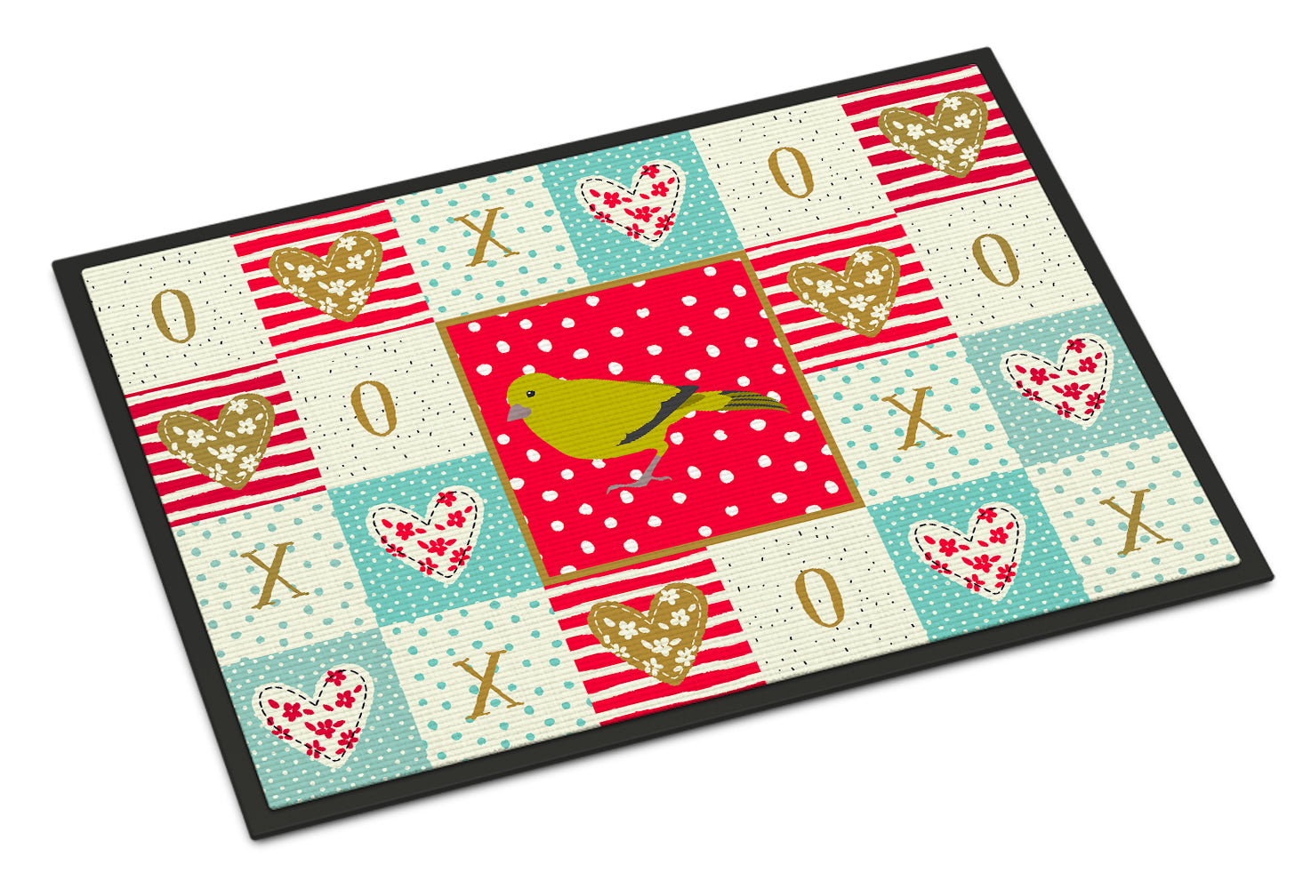 Buy this London Canary Love Indoor or Outdoor Mat 18x27 CK5505MAT