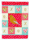 Norwich Canary Love Flag Canvas House Size CK5506CHF by Caroline's Treasures