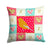 Buy this Norwich Canary Love Fabric Decorative Pillow CK5506PW1414