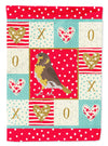 Spanish Canary Love Flag Canvas House Size CK5508CHF by Caroline's Treasures