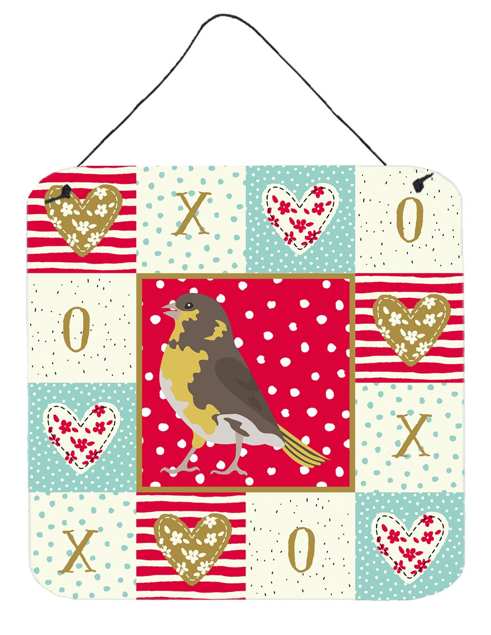 Buy this Spanish Canary Love Wall or Door Hanging Prints CK5508DS66