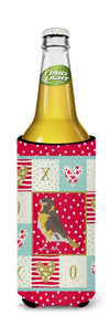 Spanish Canary Love Michelob Ultra Hugger for slim cans CK5508MUK by Caroline's Treasures