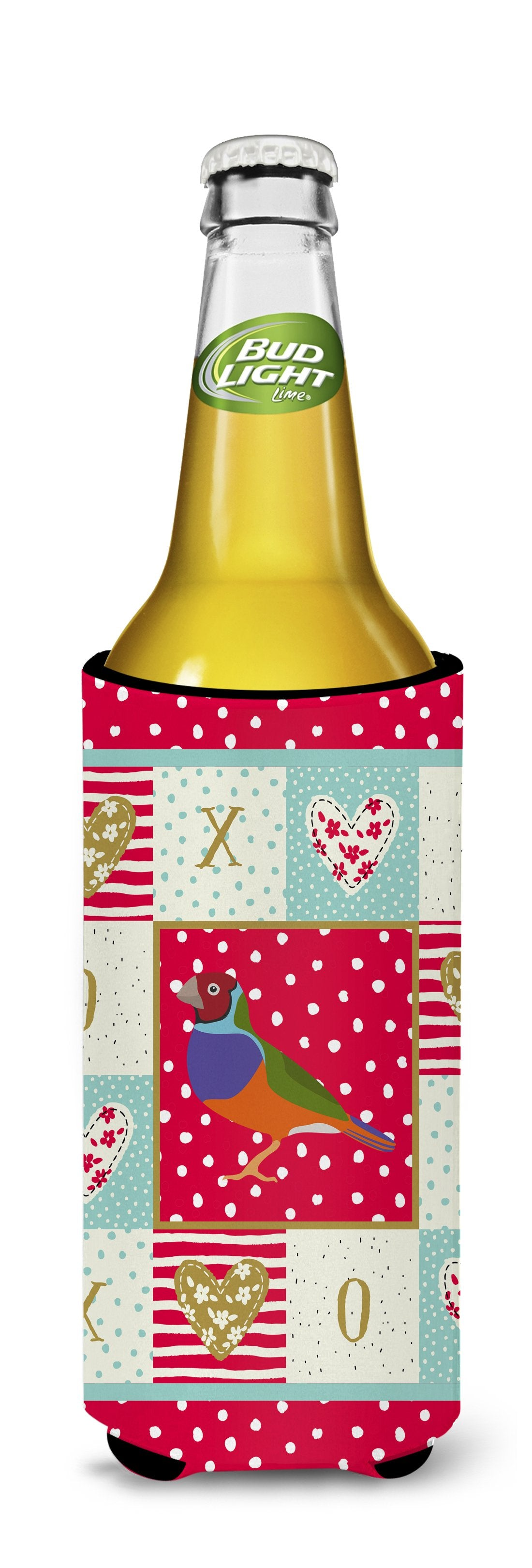 Amadina Love Michelob Ultra Hugger for slim cans CK5509MUK by Caroline's Treasures