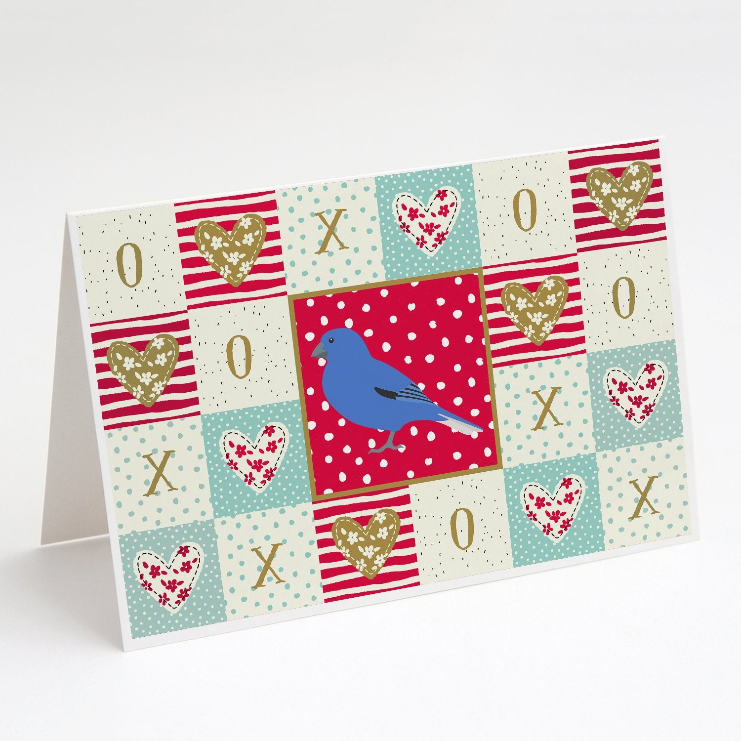Buy this Bunting Love Greeting Cards and Envelopes Pack of 8