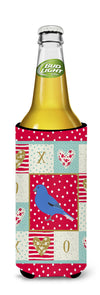 Bunting Love Michelob Ultra Hugger for slim cans CK5510MUK by Caroline's Treasures