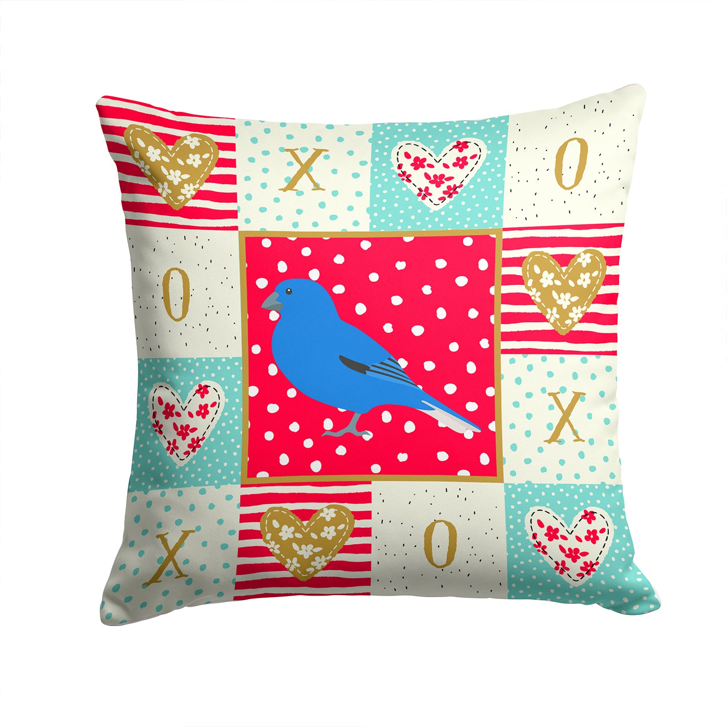Buy this Bunting Love Fabric Decorative Pillow CK5510PW1414