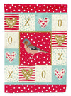 Finch Love Flag Garden Size CK5511GF by Caroline's Treasures