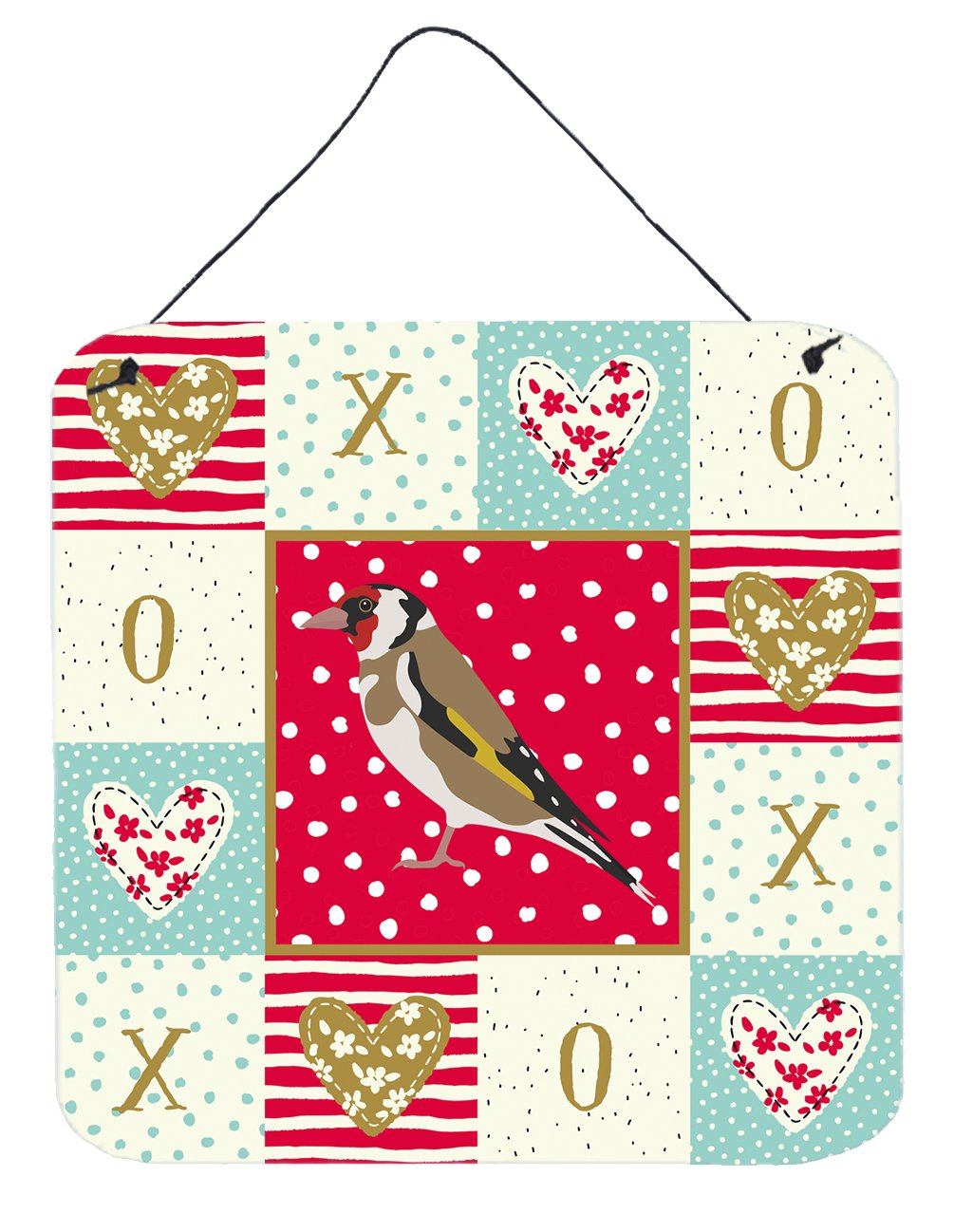 Buy this Gold Finch Love Wall or Door Hanging Prints CK5512DS66