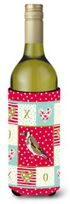 Gold Finch Love Wine Bottle Hugger CK5512LITERK by Caroline's Treasures
