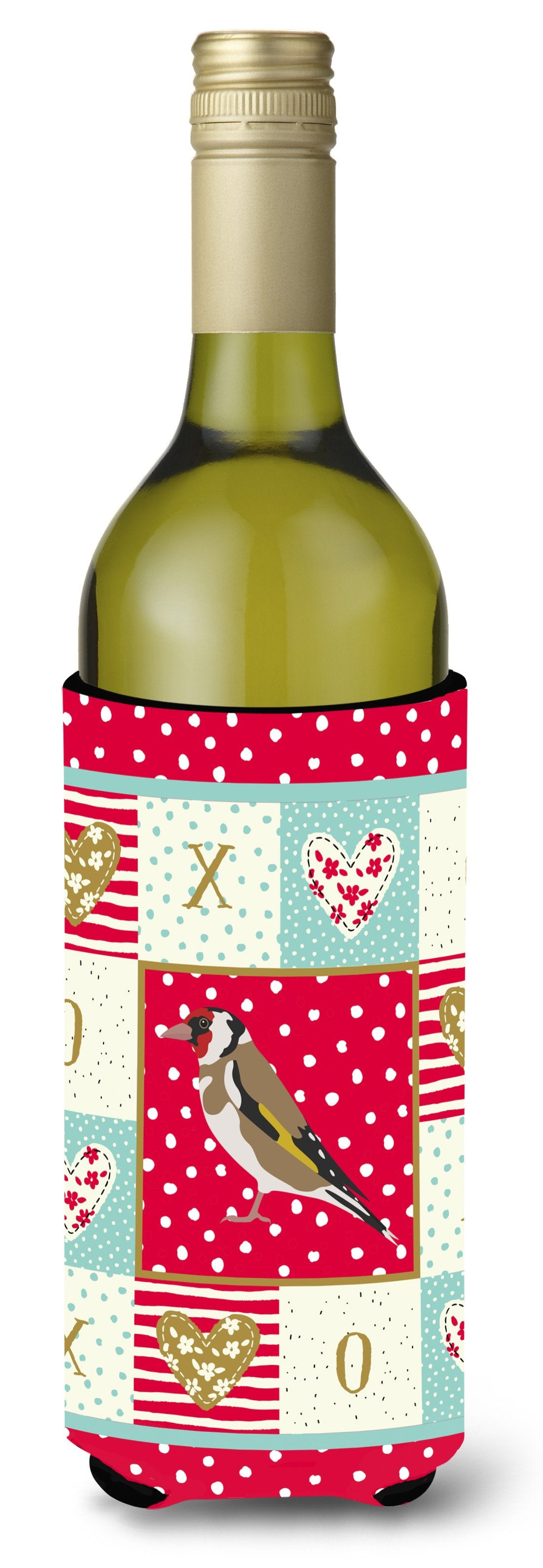 Buy this Gold Finch Love Wine Bottle Hugger CK5512LITERK