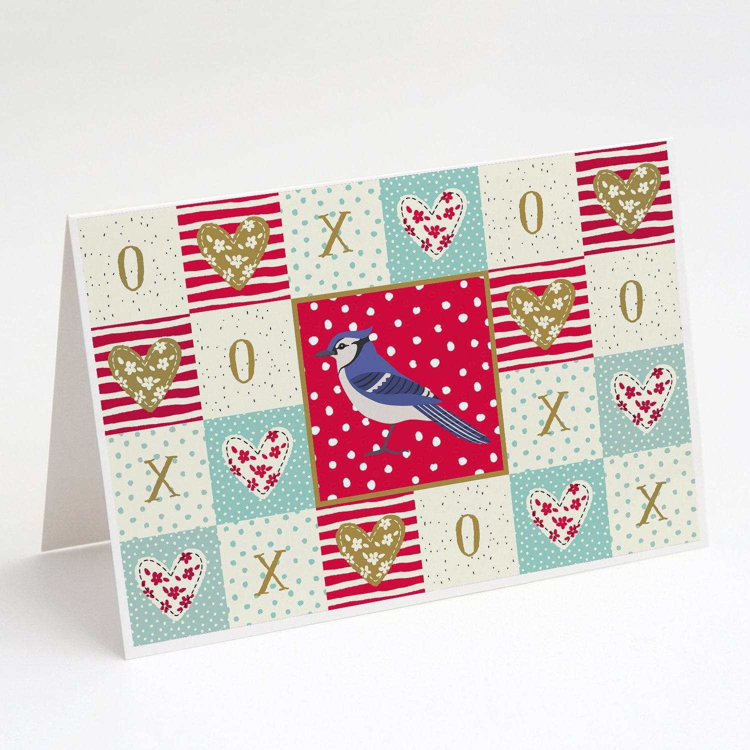 Buy this Jay Bird Love Greeting Cards and Envelopes Pack of 8