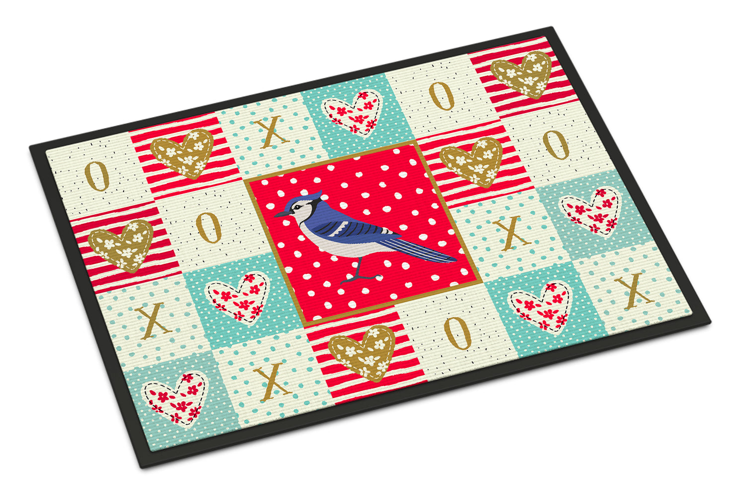 Buy this Jay Bird Love Indoor or Outdoor Mat 18x27 CK5513MAT