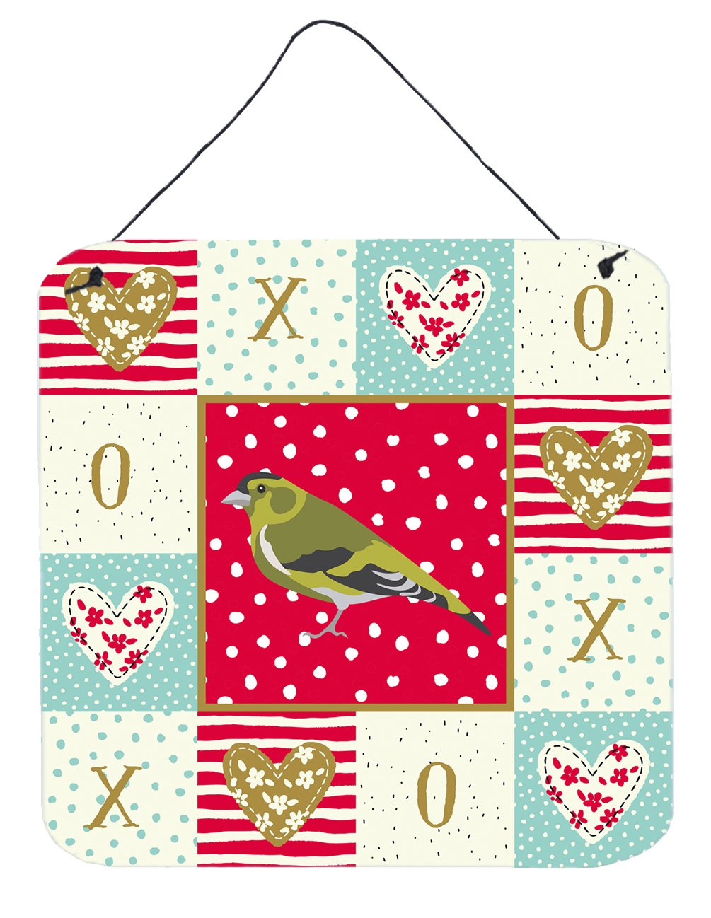 Buy this Siskin Love Wall or Door Hanging Prints CK5514DS66