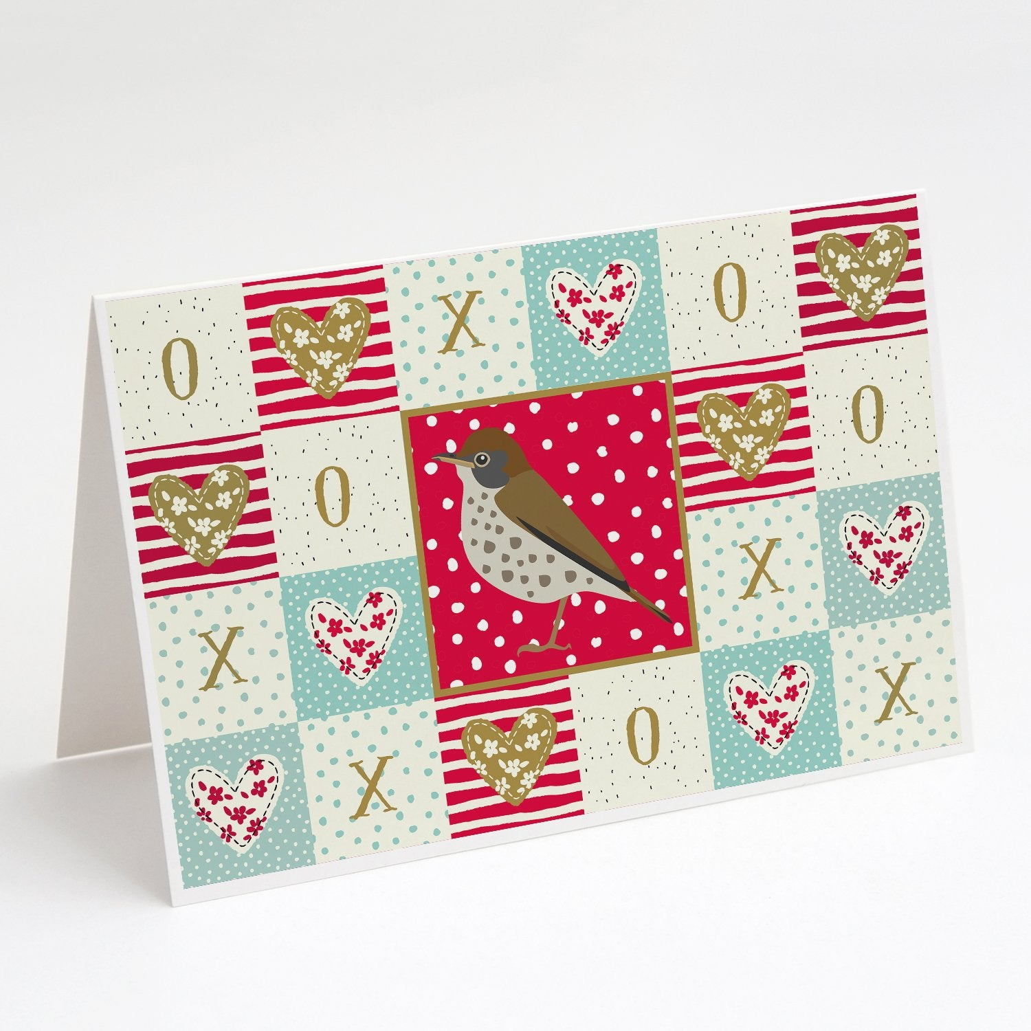 Buy this Thrush Love Greeting Cards and Envelopes Pack of 8
