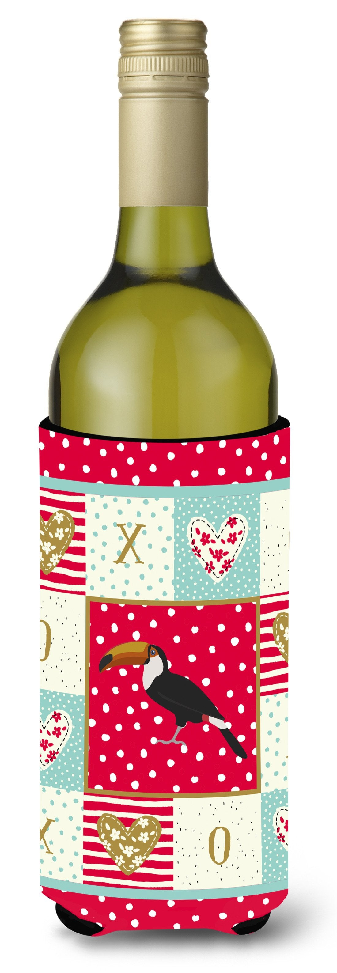Toucan Love Wine Bottle Hugger CK5517LITERK by Caroline's Treasures